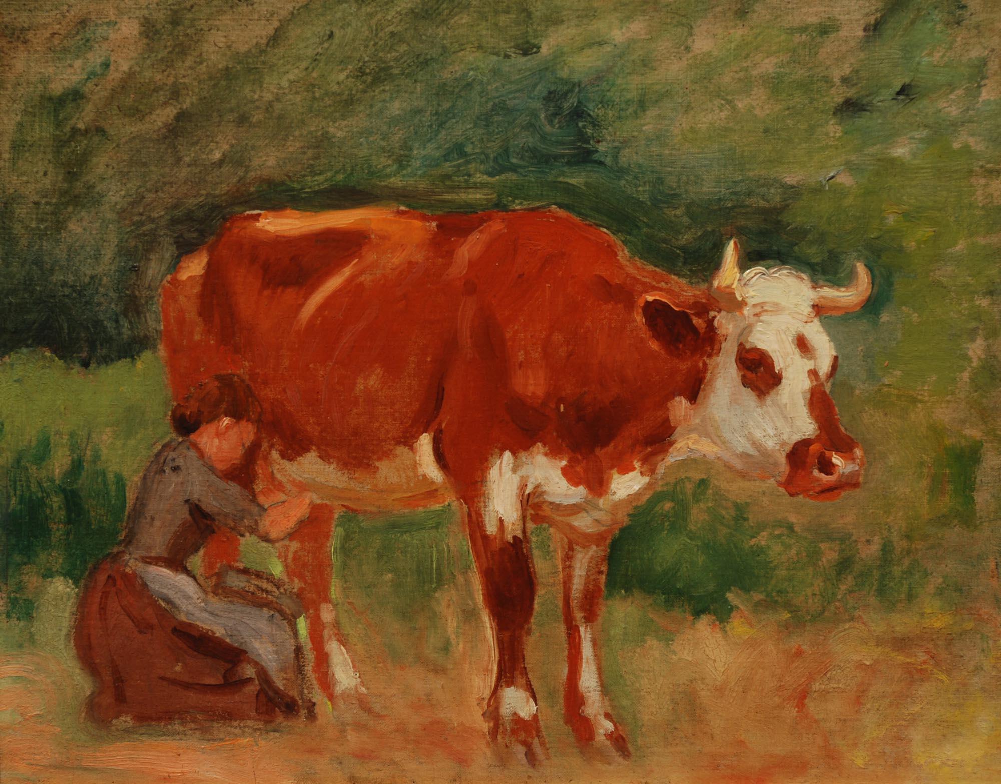George Glenn Newell Milking Time