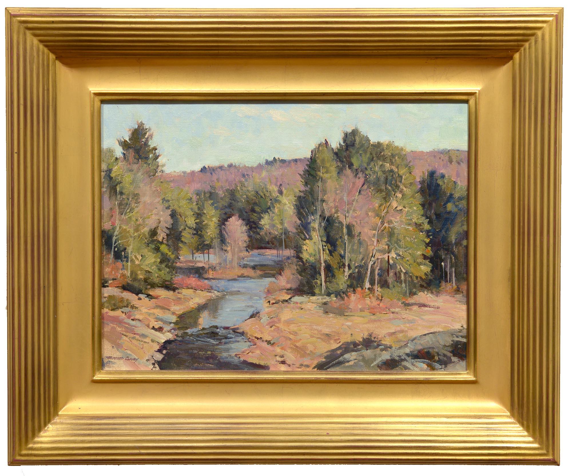 Bernard Corey Quiet River framed