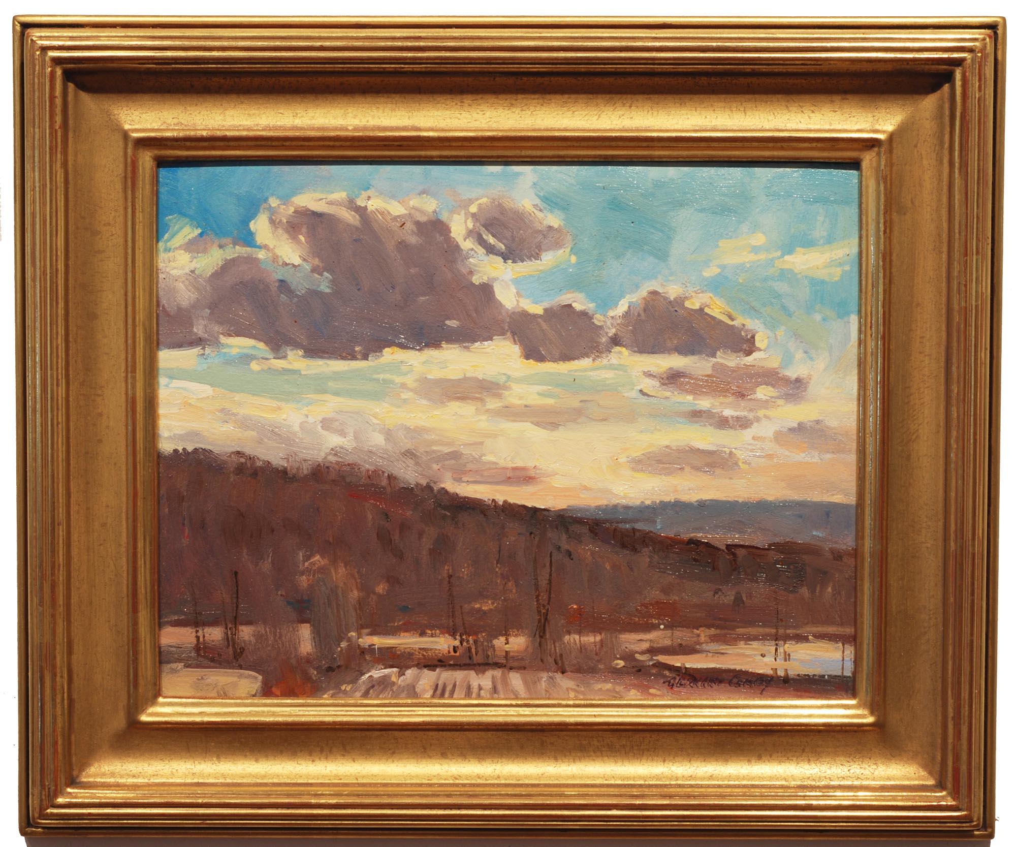 Bernard Corey Brightening Skies framed