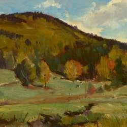 Bernard Corey Early Autumn Pastures