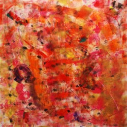 Phoebe Oehmig Red Abstract