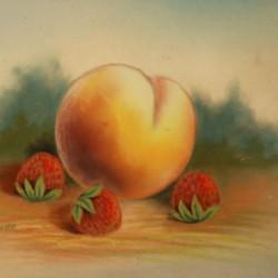 John Bower Peach and Strawberries