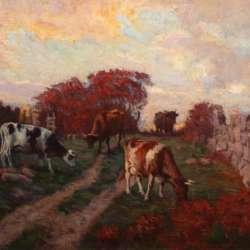 Attrib George Arthur Hays Autumn Pastures