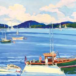 Keith Oehmig Morning, Southwest Harbor