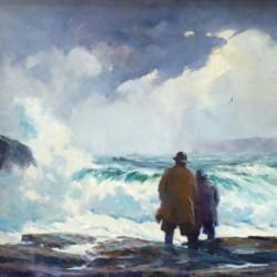 Gordon Grant Watching the Sea