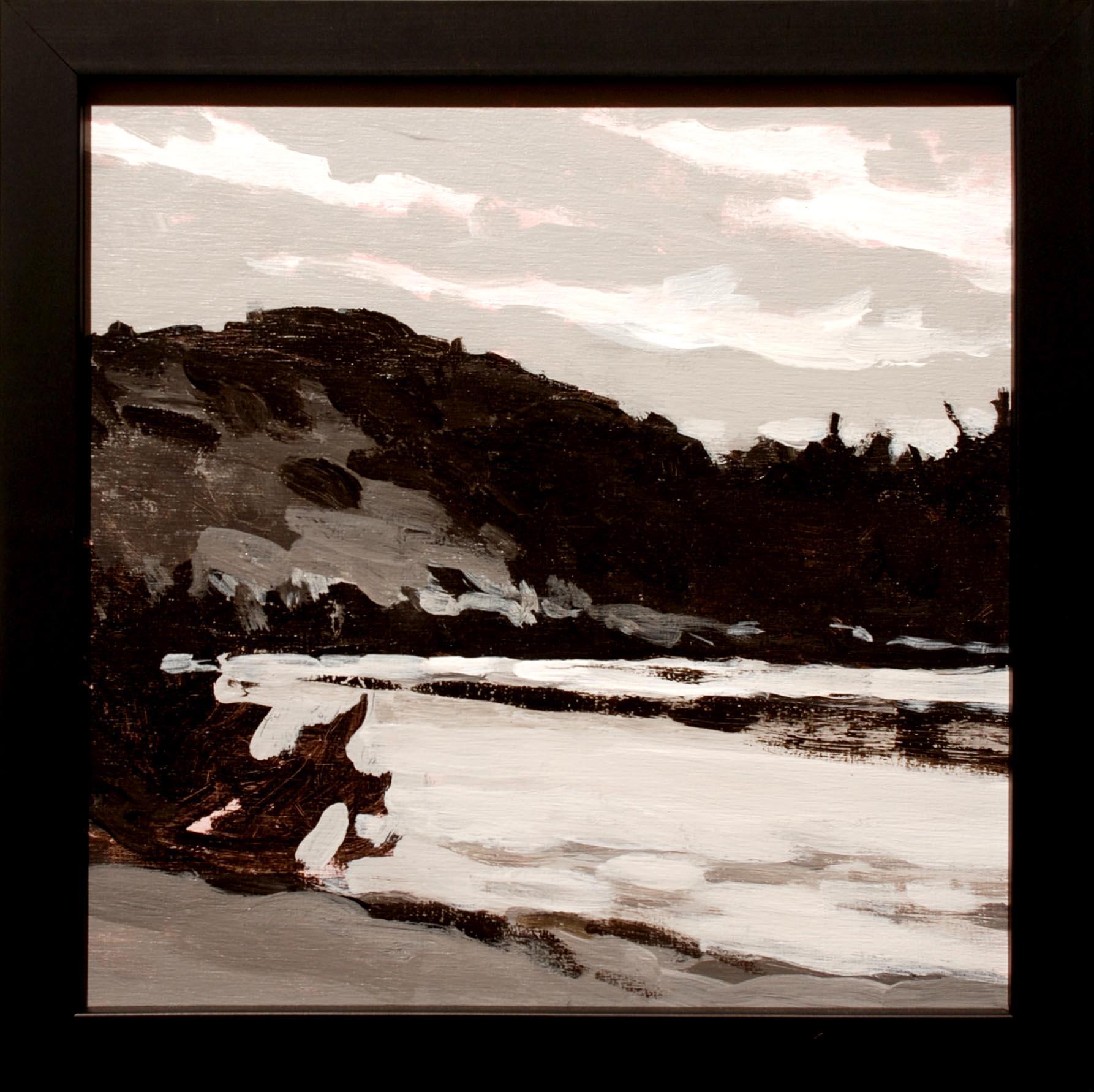 Keith Oehmig Upper Pond, Pierce Pond framed
