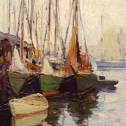 Anthony Thieme Three Fishing Boats