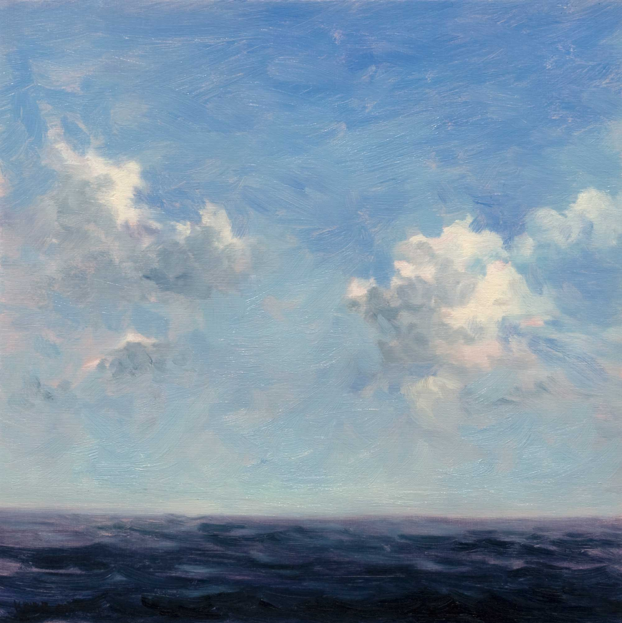 Keith Oehmig Clouds Over the Sea