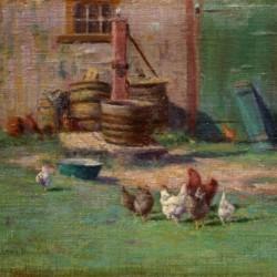 Walter Douglas The Barnyard