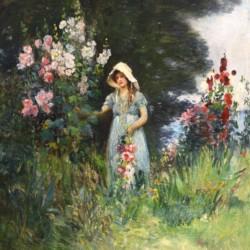 Charles Waltensperger Garden by the Sea