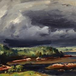 John Folinsbee Storm Over Chewonki