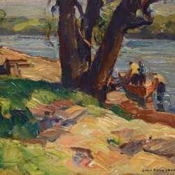 John Folinsbee Shad Fisherman, 1927