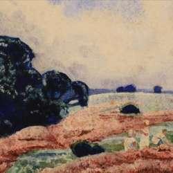 William Brock Figures in a Meadow