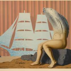 Rene Magritte Un Seduisant D'eau de Mer