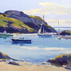Keith Oehmig August Afternoon, Fish Beach