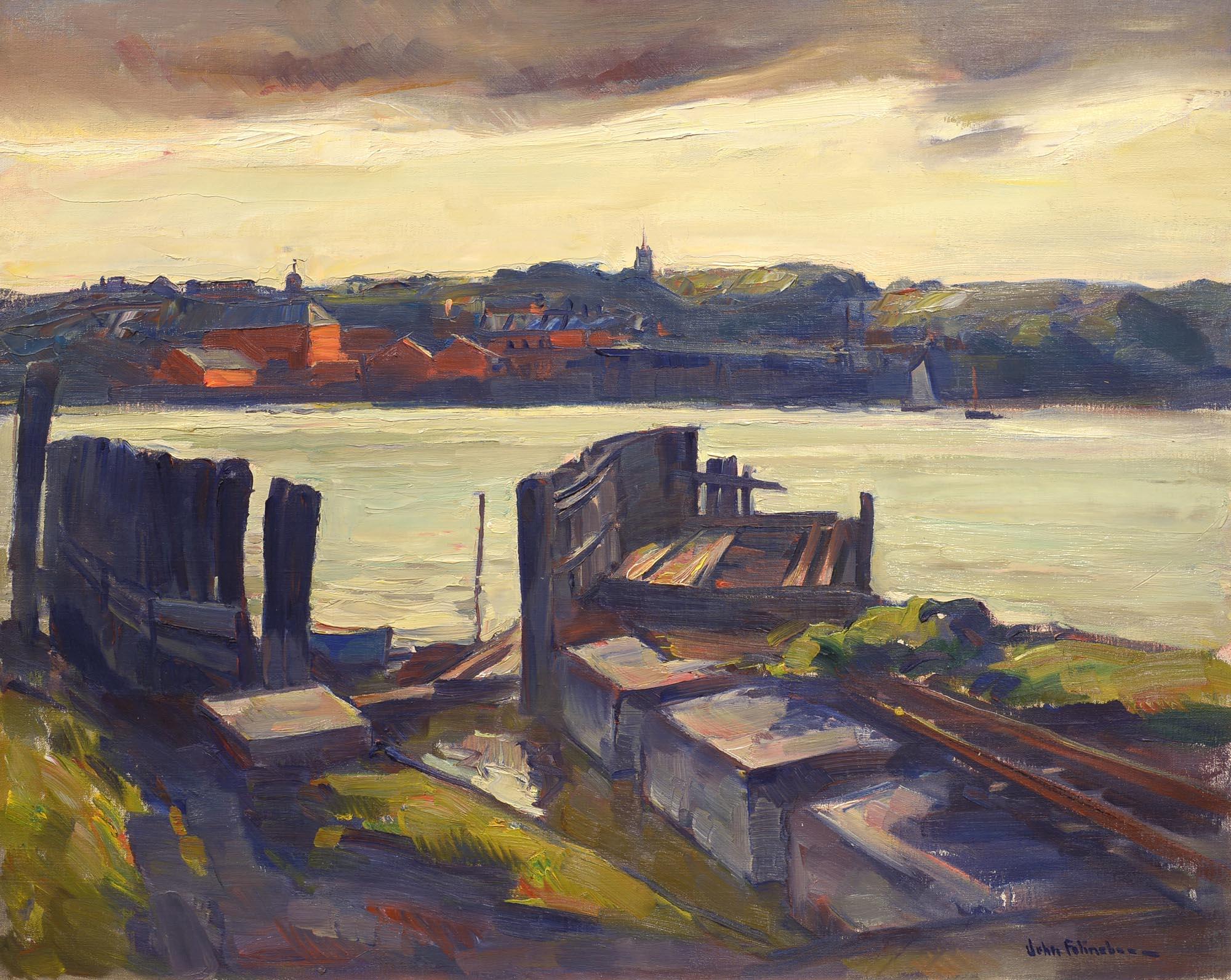 John Folinsbee Woolwich Ferry Slip