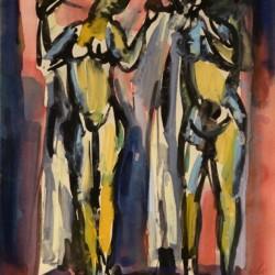 Aldo Calo Two Figures