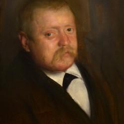 Swedish late 19th c Portrait of a Gentleman