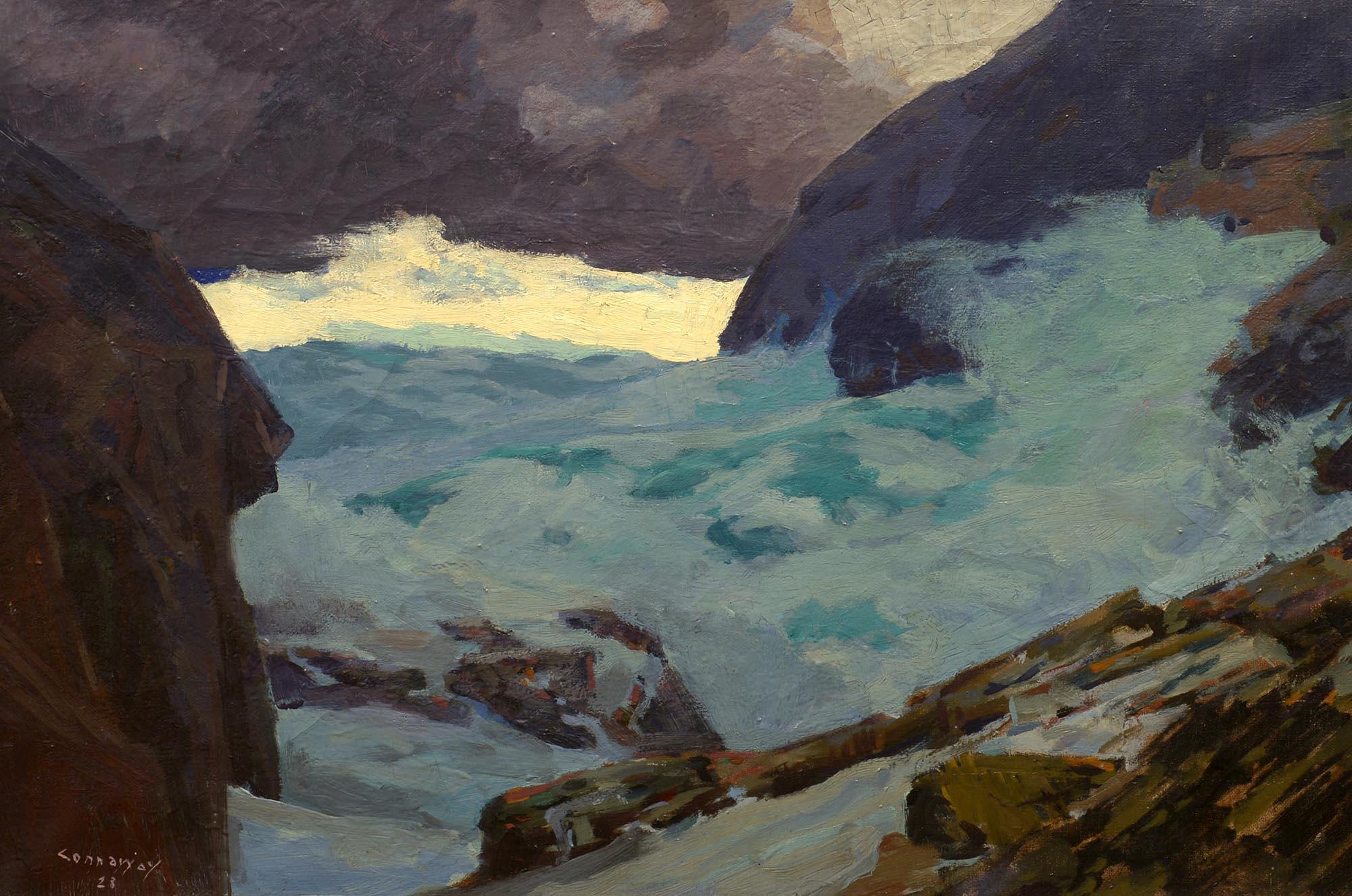 Jay Hall Connaway Beneath the Headlands, 1928
