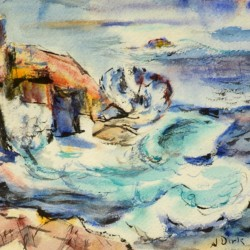 Nathaniel Dirk Swirling Seas