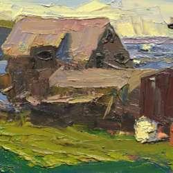 David Kasman Stanley Fish House, Monhegan