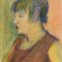 Auguste Grass-Mick Portrait of La Goulue