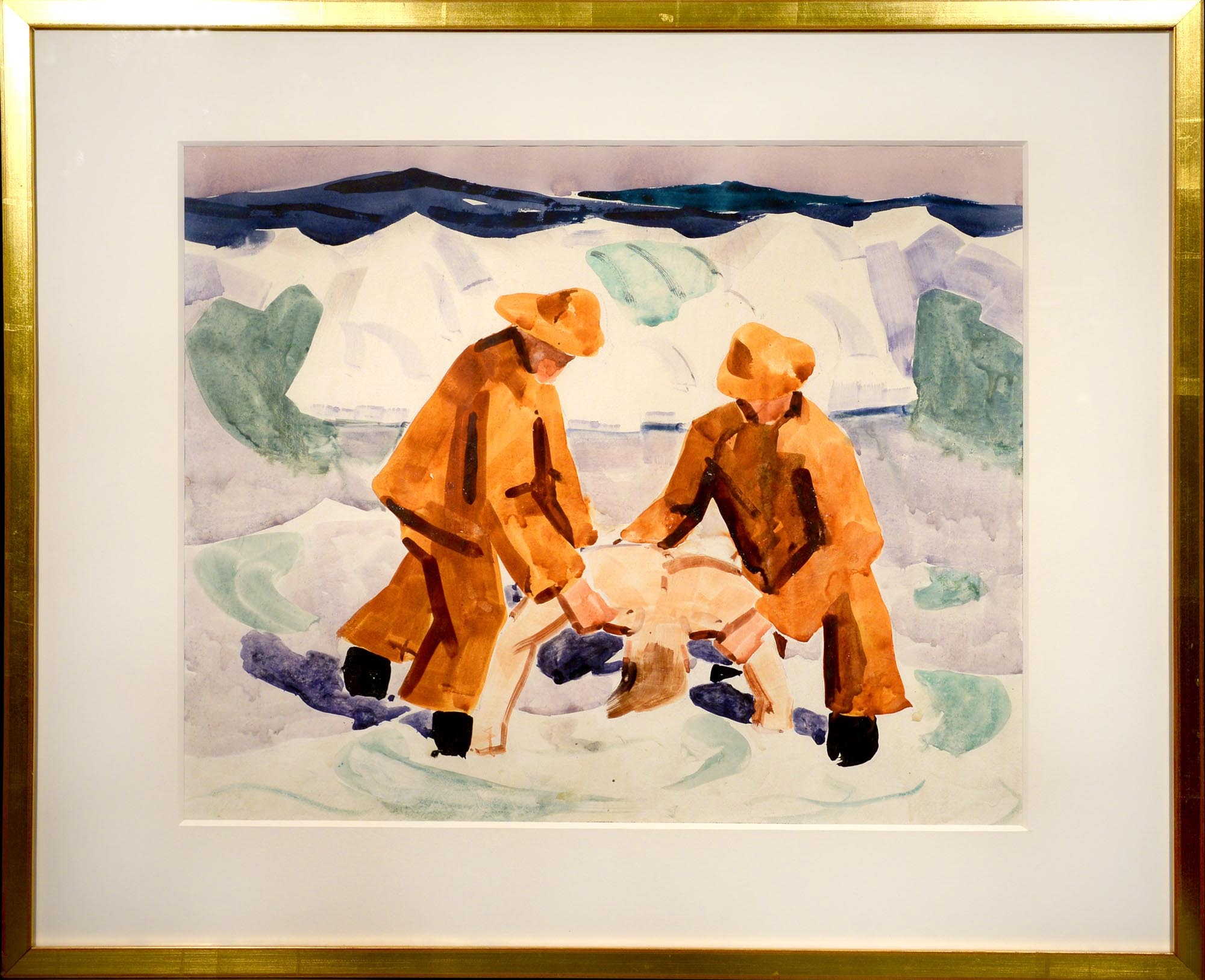James Fitzgerald Rescue at Sea framed