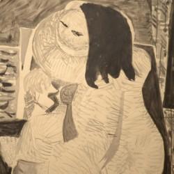 Louis Latapie Cubist Nude