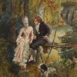 Vicente Garcia de Paredes Fall Courtship