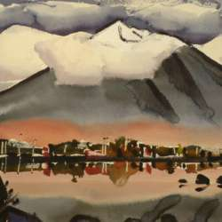 James Fitzgerald Snow-Capped Mountain