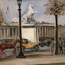 Genevieve Gallibert Champs-Elysees