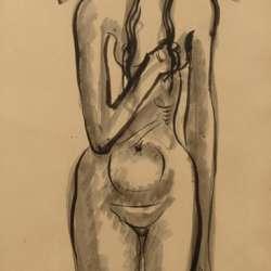 Nathaniel Kaz Nude, 1937