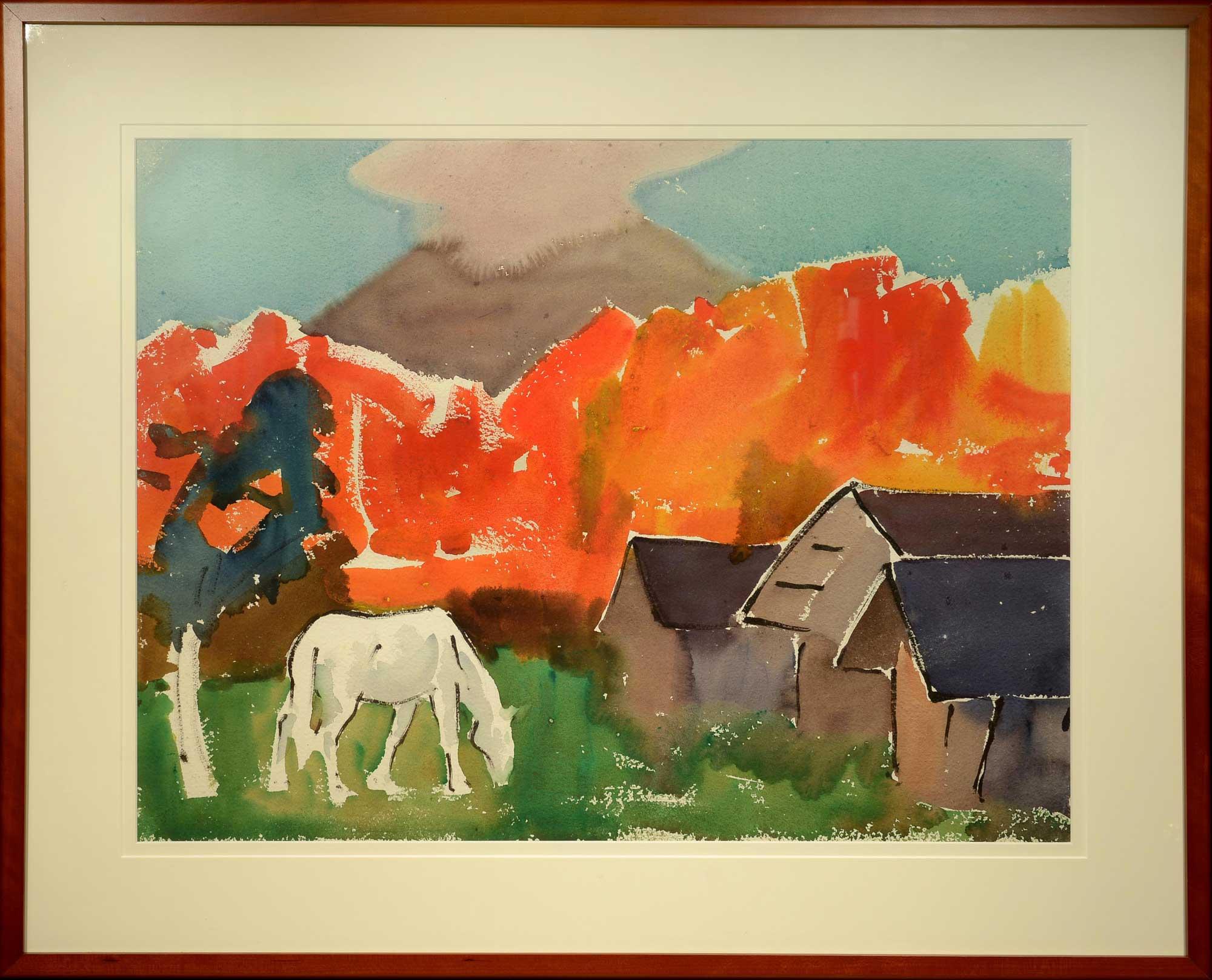James Fitzgerald Autumn Brilliance framed