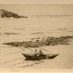 Sears Gallagher Fishermen, Fish Beach, Monhegan