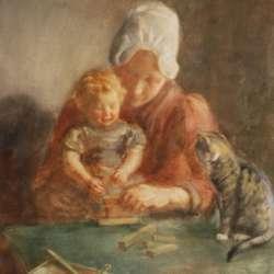 Hendrik Maarten Krabbe Mother and Child