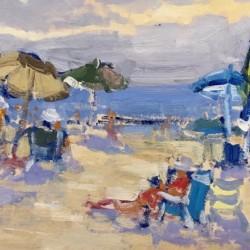 Keith Oehmig Beach Morning