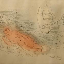 Raoul Dufy Baigneuse