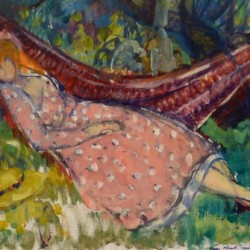 Leon Kroll In the Orchard, 1921