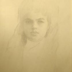 Attrib Edmund Tarbell Portrait of a Lady