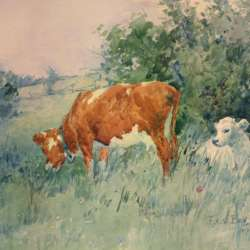 Frederic Charles Vipond Ede Spring Calf