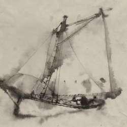 William Thon Gaff-Rigged Schooner