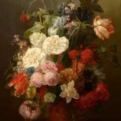 Frants Diderik Boe Floral Still Life