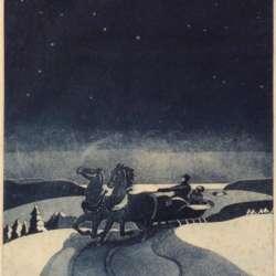 George Jo Mess Winter Night