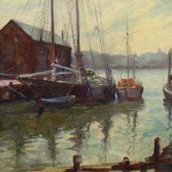 Abraham Rosenthal Gloucester Harbor