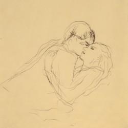Marcel Vertes The Embrace