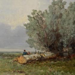 Eugene Ciceri Edge of the Meadow