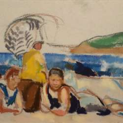 Ethel Louise Paddock The Bathers