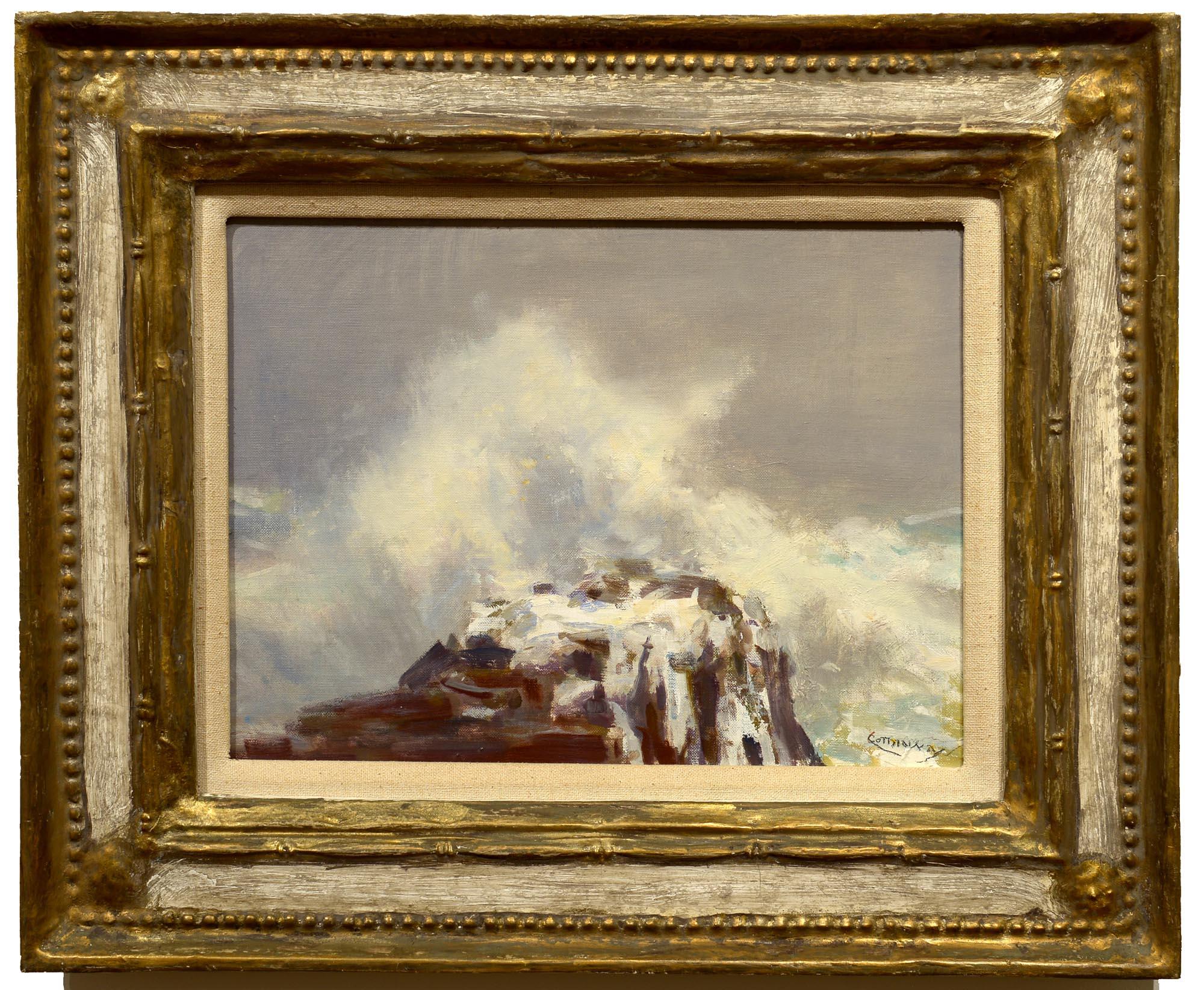 Jay Hall Connaway Sea Burst framed