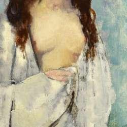 Leon Kroll The White Robe