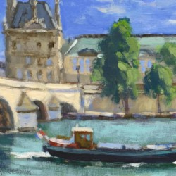 Keith Oehmig On the Seine